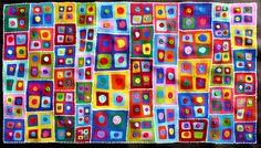 Colourful Aboriginal ART BY Sally Clark | eBay