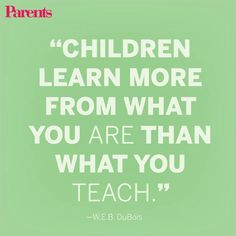 What lessons are you teaching your kids?