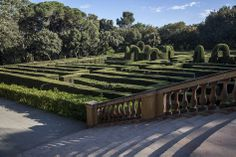 My favorite park in Barcelona, Parc del Labyrint, in Horta. Beautiful and entertaining.