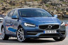 Volvo V40 Facelift Going for Geneva Show