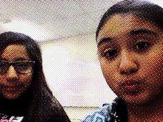 Me and my friend Alejandra in science.#schoolsucks
