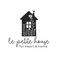 home logo Sweet House Premade Logo Desi - Design Logo, Branding Design, Graphic Design, Logo Deco, Interior Logo, Interior Shop, Interior Ideas, Interior Styling, Business Names