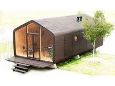 Wikkelhouse : une maison en carton écologique et durable - Wikkelhouse