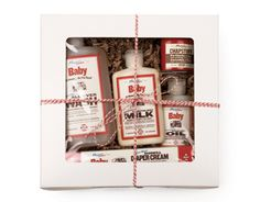 natural/organic baby gift set at mayron's goods | baby shower gift guide