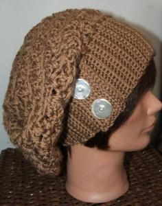 ribbed slouchy hat
