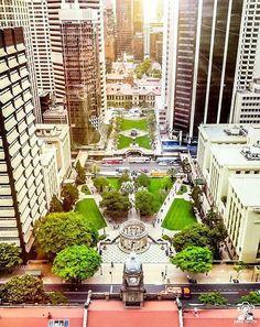 ANZAC Square  Brisbane CBD