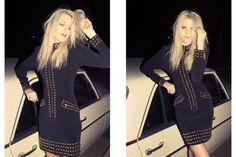 Rachel Ruff photographed by Jesse Koska #studded #studs