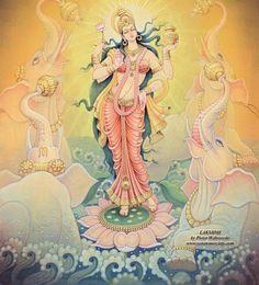 Lakshmi - Diosa india de la abundancia