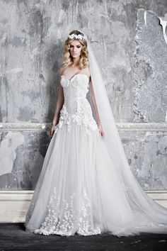 Clarette by Pallas Couture | via http://pallascouture.com