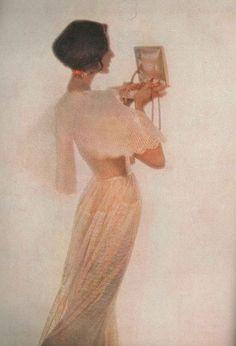 Photo by Lillian Bassman, Harper's Bazaar, 1956