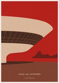 (via Las ilustraciones minimalistas de la arquitectura by Andre Chiote   ▽ MODADDICTION ▽)