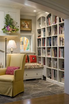 Books In Nooks | The House that A-M Built