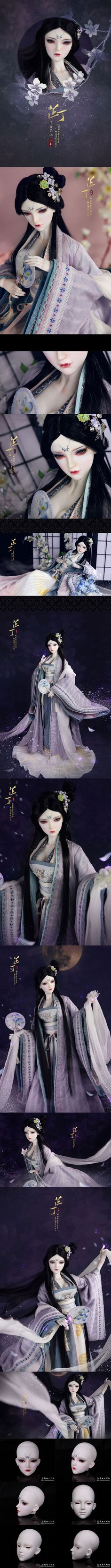 BJD 【Limited Edition】69cm Girl Lilac Fairy-ZhiDing Limited 60 Sets Boll-jointed doll_68-75cm dolls_LOONG SOUL_DOLL_Ball Jointed Dolls (BJD) company-Legenddoll