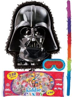 Pull String Star Wars Pinata Kit - Party City