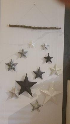 Sternenvorhang aus Papier