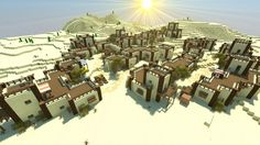 Desert Village | Mosīl Kōtkay [DOWNLOAD] Minecraft Project                                                                                                                                                                                 More