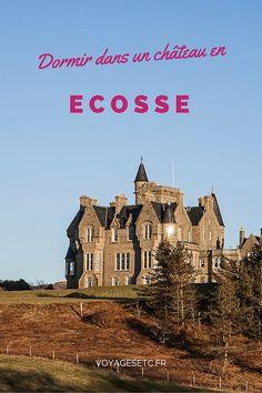 Sur l'ile de Mull en Ecosse, dans les Hébrides extérieurs, on peut dormir dans un chateau. Situé en bord de mer, c'est un endroit génial pour dormir une nuit avant d'aller se promener sur les terres environnantes. #ecosse #visitscotland