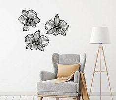 Inspirational Sch ne Orchideen f rs Wohnzimmer Flur oder Schlafzimmer wandtattoo wandbilder wanddeko