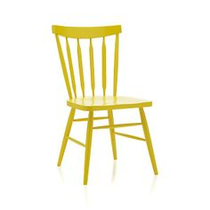 Willa Yellow Side Chair crate and barrel also in mint, white