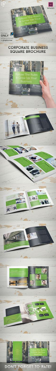 Indesign Square Photo Book Template  Template Brochures And Book