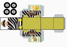 Jeep Safari Party Template | Toda a Arte Para Download: http://fazendoapropriafestablog.blogspot.com.br/2014/02/kit-de-personalizados-tema-safari.html