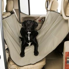 Heavy Duty Quilted Pet Dog Rear Seat Cover For Mercedes Benz GLE Class 4x4 15 On