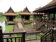 Floating Village, Cambodian Cultural Village, Siem Reap, Cambodia by Bencito the Traveller, via Flickr