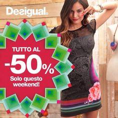 Sconto 50 DESIGUAL SOLO DOMANI SOLO DA GIOLEN !!!!