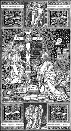 Illustrations · Catholic Line . Catholic Missal, Catholic Art, Religious Art, Christian Artwork, Christian Images, Bible Illustrations, Religious Pictures, Christian Symbols, Art Graphique