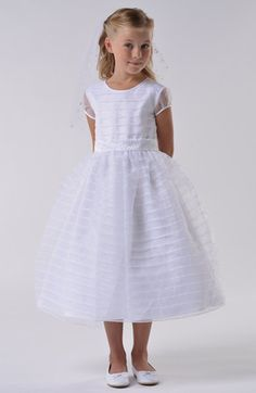 This was the one I saw    Us Angels Communion Dress (Little Girls & Big Girls) | Nordstrom