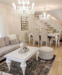 interior home design Dining Room Table Decor, Living Room Decor Cozy, Living Room Grey, Dining Room Design, Home Living Room, Home Decor Inspiration, Design Case, House Design, Interior Design