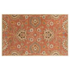 Check out this item at One Kings Lane! Gabriel Rug, Raw Sienna 9 x 12 $949