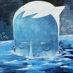 Mural de Yoskay Yamamoto en Culver City