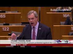 HOLY GLOBALIST SLAM! Nigel Farage Brilliantly DESTROYS EU Hypocrites Over Their Trashing Of President Trump [VIDEO]