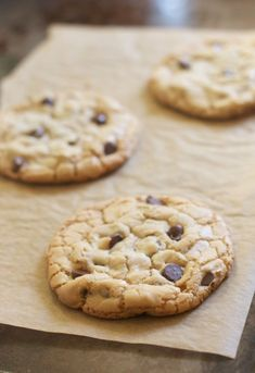 Perfect Chocolate Chip Cookies (For Two)