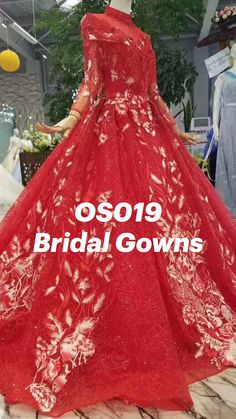 Red Quinceanera Dresses, Bridal Gowns, Ball Gowns, Luxury, Formal Dresses, Fashion, Bride Dresses, Ballroom Gowns, Dresses For Formal