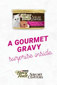 With a magical gravy middle. Colourful Wallpaper Iphone, Carnival Dancers, Cat Food, Love, Gravy, Salmon, Delicate, Middle, Fancy