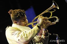 Christian Scott (Barcelona, Nov 25, 2012) #jazz #photo by Joan Cortès