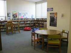 We created a space for the YA collection in the former reference area.  We've integrated our remaining reference books into the nonfiction collection and are more likely to use online sources now.