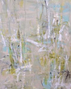 Delicate abstracts by previously published artist Rhenda...
