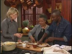 Martha Stewart cooks with chef Marcus Samuelson and his friend Werkie, and together they make a traditional Ethiopian chicken stew called Doro Wat.