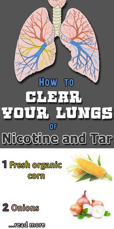 How to CLEAR YOUR LUNGS of Nicotine & Tar! -->