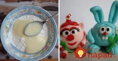 Falošný marcipán zo Salka: Na zdobenie tort, zákuskov a vytváranie sladkých ozdôb!