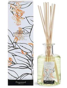 oz) Made in Grasse, France High quality floral room perfume Also available eau de toilette, body lotion, shower gel comes with 10 rattan sticks Room Diffuser, Candle Diffuser, Fall Scents, Home Scents, Orange Rooms, Gold Home Accessories, Floral Room, Orange Blossom, Shower Gel