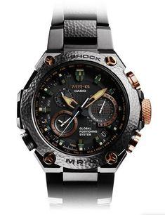 http://www.trendingclothingstyles.com/category/g-shock/ G-Shock MRG-G1000HT Hammer Tone MR-G 20th Anniversary Watch