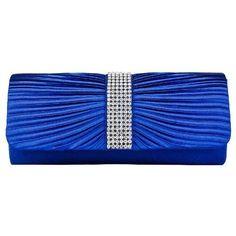Girly HandBags Women's Satin Diamante Clutch Blue Girly HandBags http://www.amazon.com/dp/B00BZ6YKUO/ref=cm_sw_r_pi_dp_Ic12wb0P8KB32