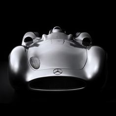A face only a mother could love... Mercedes-Benz W 196 'Silberpfeil' (1955)