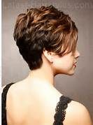 back view of short hairstyles for women - Bing Images