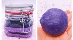 Einfache Anleitung für das Knete selber machen. Ideale Idee für das Basteln mit Kindern