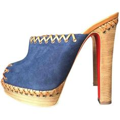 8710b06be297 Buy your mules   clogs Christian Louboutin on Vestiaire Collective